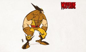 WOLVERINE animated by TimKelly
