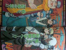 Naruto 489 cover - color by Thecmelion