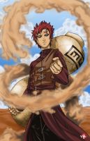 Gaara of the Sand by WiL-Woods
