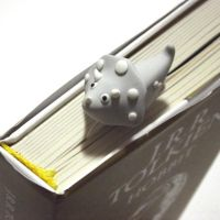 Triceratops bookmark by Melarin