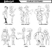Couple's Costumes by Sodano