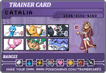 Trainer Card by saiyanprincesscat