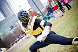 Gold Zeo Ranger Cosplay by KellHiro