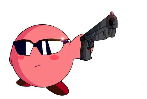 Matrix Kirby by MasterPitzy