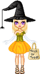 Cute Halloween Themed Pixel Doll Pixel Art by Sleepy-Stardust