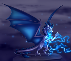 Electric Royalty - commission by IcelectricSpyro