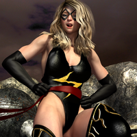 Cospaly Ms Marvel vs Naomi 492 by CalvadosJapan