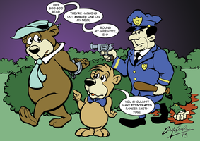The day Yogi lost it! by GrendalUnleashed