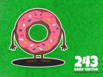 Daily Vector - 243 (Donut) by KellerAC