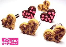 chocookie corazon ring by KPcharms
