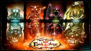 Four Riders of the Ewokalypse by pitnerd