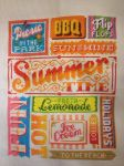 Summer Words, Cross Stitch Crazy 192 by StitchingDreams