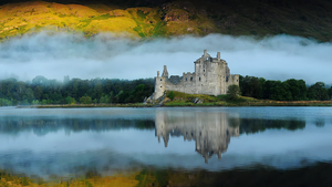 Kilchurn Castle by Nelleke
