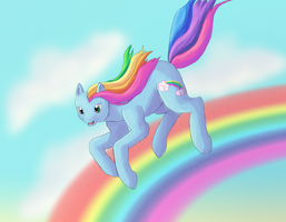 Dashing on Rainbows by Rika-of-Thunder