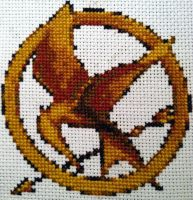 Mockingjay Pin by MortuusSanus