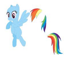 Le Flying Pegasus! Rainbow Dash Base! - #9 by MyLilAdoptables