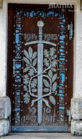 church door by MaithaNeyadi