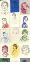 Daily Portrait sketch dump 3 by ThePotatoStabber