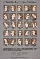 25 Expressions - Florian by trenchWeasel