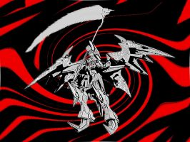 The Deathscythe in Hell by feudalfox