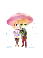 :: APH: Under the umbrella :: by Anniih