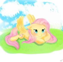 Mlp Fluttershy by xao-chii