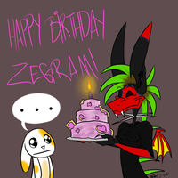 Happy Birthday Zegram by DingoTK