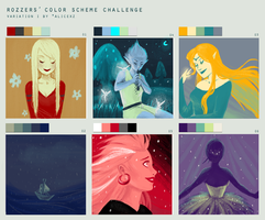 Color Scheme Challenge by Saaally