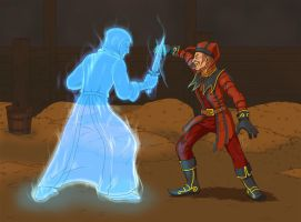 Lucien VS Cicero by FoolishLittleMortal