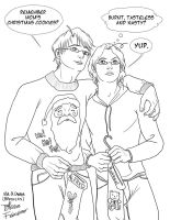 APH - USA Canada Bro Xmas by fablespinner