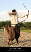 Hungarian Archer 13 by syccas-stock
