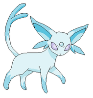 Ice Espeon Adoptable (Sold!) by shelloseast13ssss