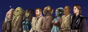 Jedi Heroes by angelsaquero