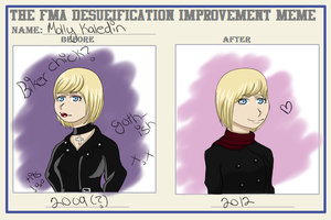 Molly's Improvement Meme by SugarplumTits
