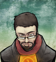 Gordon Freeman by JackxTessa