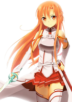 Asuna Render 2 by StrawberryTv