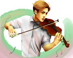 Sehun: Song of Storms by raintrix