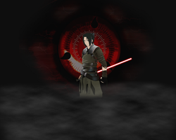 Sith Sasuke in dark side by UnreaLPiXel