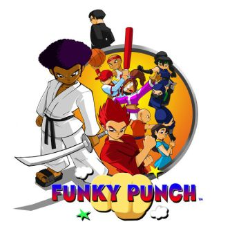 Funky Punch cover Commission by ShoNuff44