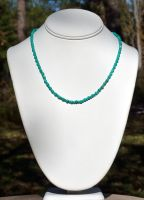 Beaded Turquoise Necklace by lamorth-the-seeker
