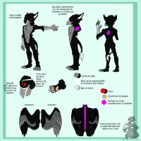 Griphass fursuit reference by Japandragon