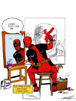 Rockwell Deadpool by SparkyPantsMcGee