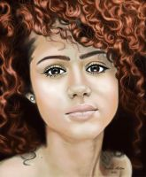 Nathalie Emmanuel by Aether45