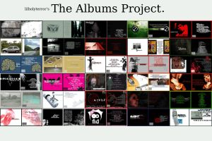 The Albums Project by lilholyterror