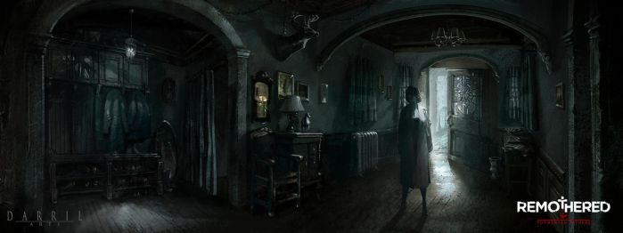 REMOTHERED: Tormented Fathers - Preliminary Hall by Chris-Darril
