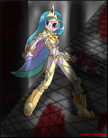 Celestia-Dead Space crossover by Zepher-Tensho