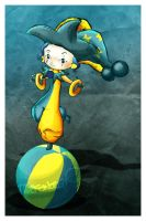 the arlequin - Thiefoworld by childrensillustrator