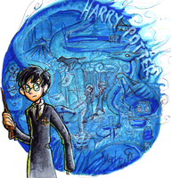 Harry Potter :D by Zakeno