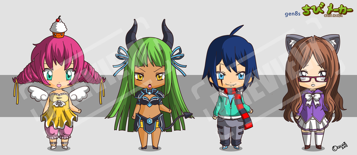 Chibi Maker - Preview by gen8