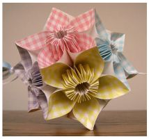 Kusudama for Spring by wastedlimes